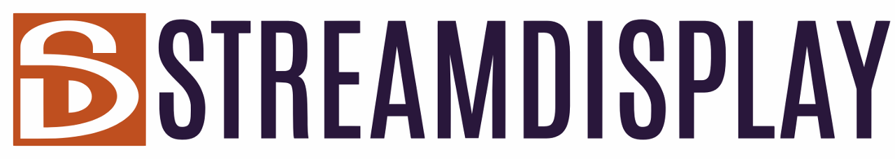 StreamDisplay logo